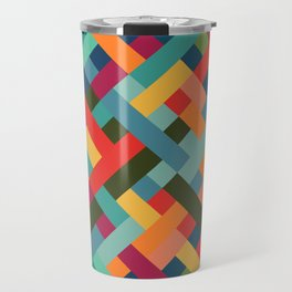 Weave Pattern Travel Mug