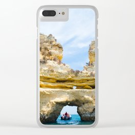 Ponta da Piedade Clear iPhone Case