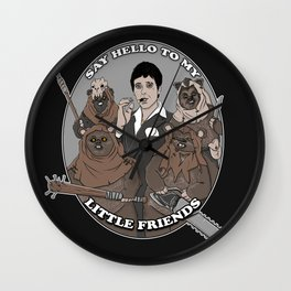 Scarface and his little Friends Wall Clock