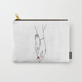 I want to hold your hand Carry-All Pouch