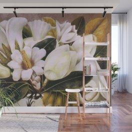 Magnolias Still Life by Frida Kahlo Wall Mural
