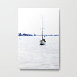 sail with me Metal Print