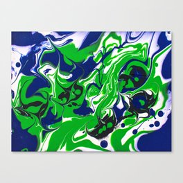 Unborn Stingrays Canvas Print