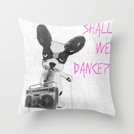 Make Friends With Beautiful Sounds Throw Pillow