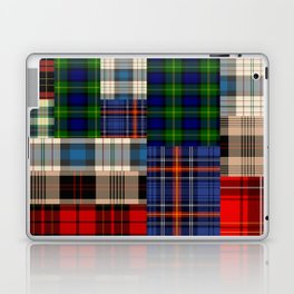 Crazy Plaid #2 Laptop & iPad Skin