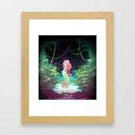 Poison Garden Framed Art Print