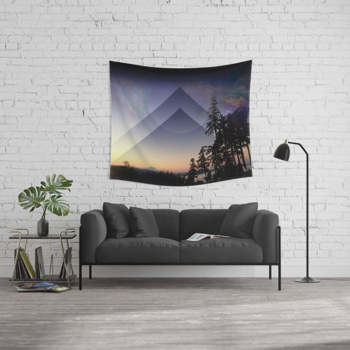 Rainier Sunrise Wall Tapestry