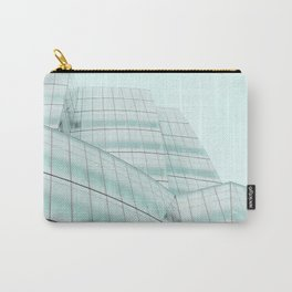 Urban Turquoise Architecture Carry-All Pouch