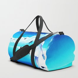 Lighthouse At The Sea Duffle Bag