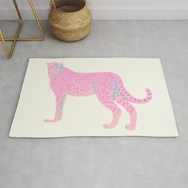 PINK STAR CHEETAH Rug