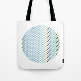Green Drops of Time Tote Bag