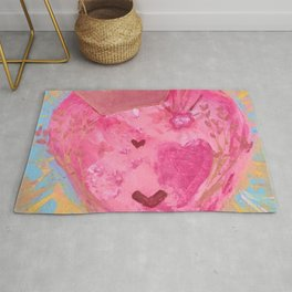 Save the Queen of Heart Rug