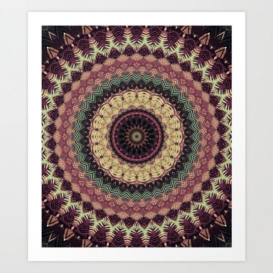 Mandala 273 Art Print