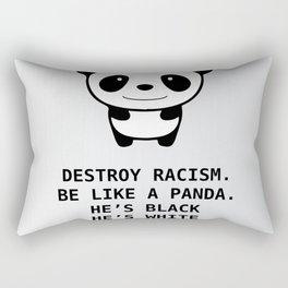 panda-racism Rectangular Pillow