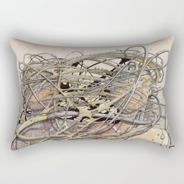 de hypterion II - Meta-Union - Biomechanic Love Rectangular Pillow