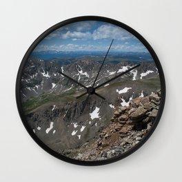 Fourteener Top Wall Clock