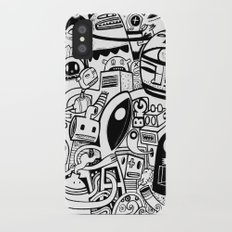 BIG - BW iPhone X Slim Case