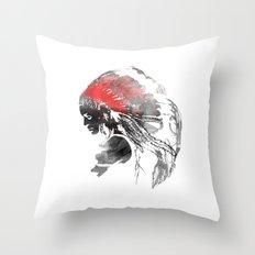 Indianian  Throw Pillow