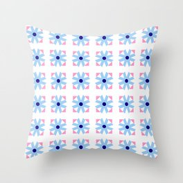rosace and star 2 Throw Pillow