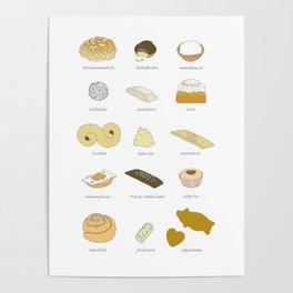 Swedish Cookies (fika) Poster