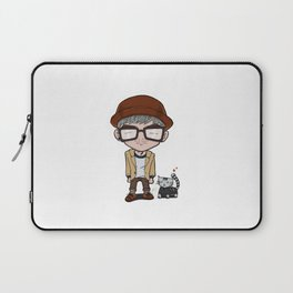 Cat and a Hat Laptop Sleeve