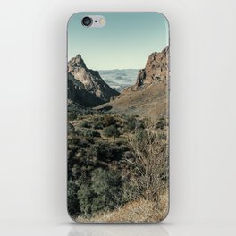 Chisos Basin Window Trail in Big Bend National Park iPhone Skin