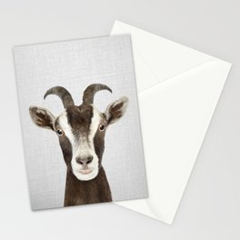 Goat - Colorful Stationery Cards