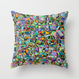 Emergence Refraction Throw Pillow