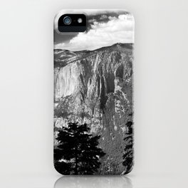 Mountains of Yosemite National Park  iPhone Case