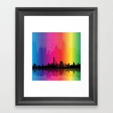 Urban Rhythm Framed Art Print