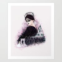 fairytale Art Prints featuring Fairytale by Alendro