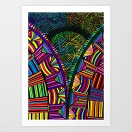 121B Art Print