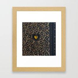 Scroll Framed Art Print