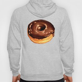 Chocolate Donut Pattern - Pink Hoody