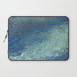 Spring Water Abstract Laptop Sleeve