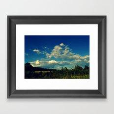 All Around Us Framed Art Print