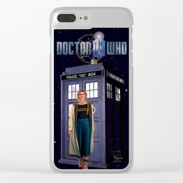 13th Doctor Clear iPhone Case