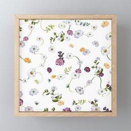 Spring Flowers, Nature 12 Framed Mini Art Print