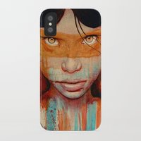 michael jackson iPhone & iPod Cases featuring Pele by Michael Shapcott