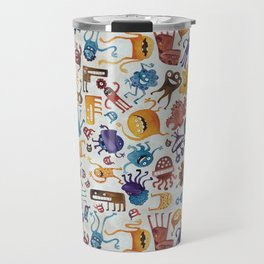 Critter Pattern 3 Travel Mug