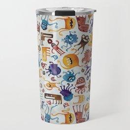 Critter Pattern 3 Travel Mug