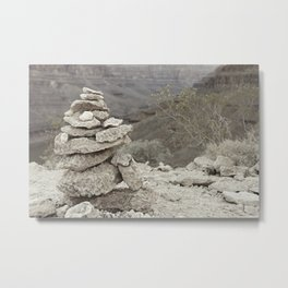 The Rock Stack Metal Print