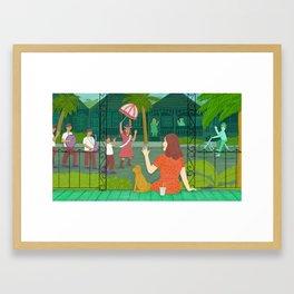 Jami Full Framed Art Print
