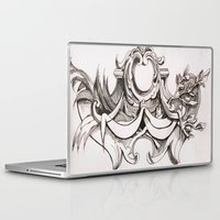 tapestry Laptop & iPad Skins featuring Tapestry by Bake
