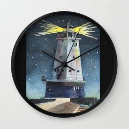 Ludington Light Wall Clock