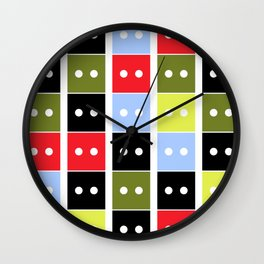 Hey DNA Wall Clock
