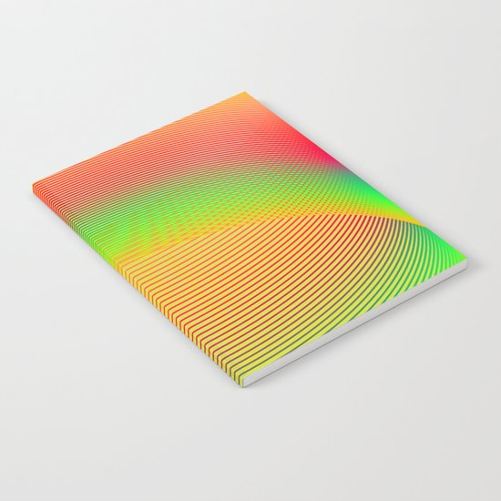 Orange Helix Notebook