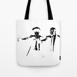 Cowboy Bebop - Spike Jet Knockout Black Tote Bag