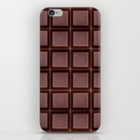 chocolate iPhone & iPod Skins featuring Chocolate by Orosis