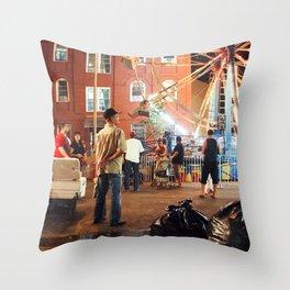 Brooklyn Natural Throw Pillow